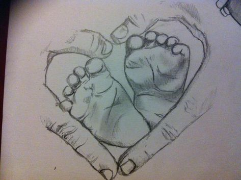 Baby Feet by BrittanyHumble