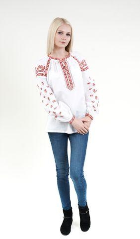 Вишиванка жіноча біла з чорною вишивкою арт. 209-15 09 купити в Україні і  Києві - відгуки 33dd40b923222
