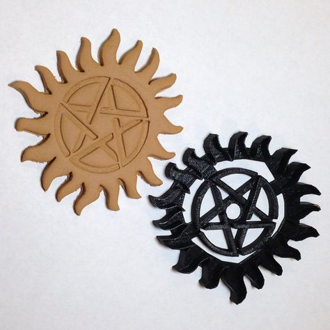 Supernatural Anti Possession Tattoo Cookie Cutter on Etsy, $17.00