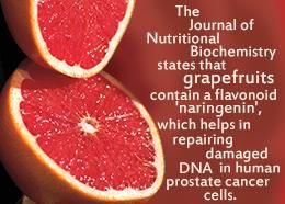 Prostatitis grapefruits