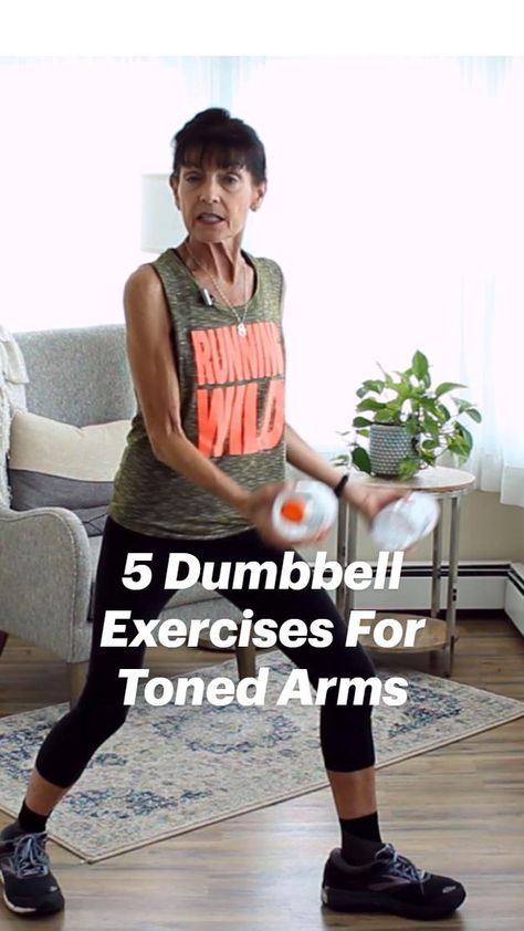5 Dumbbell Exercises For Toned Arms