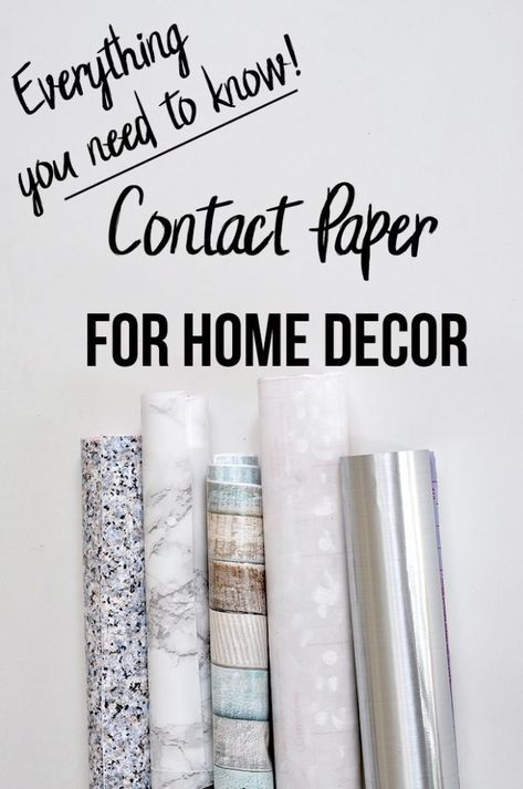 home decor tips I had no idea Contact paper was so amazing! DIY home decor with Contact paper is going to be so easy! Contact paper countertop, marble contact paper, stainless steel contact paper, so many contact paper uses and ideas! Diy Home Decor Rustic, Easy Home Decor, Cheap Home Decor, Tuscan Decor, Stainless Steel Contact Paper, Old Refrigerator, Style Deco, Rental Decorating, Decorating Ideas
