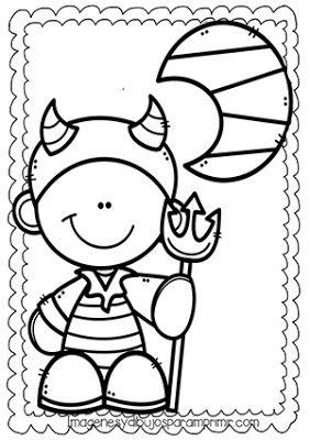 Dibujos De Halloween El Diablo Para Colorear Vault Boy Character Art