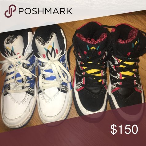 best loved cc919 c1c92 Adidas Originals Mutombo Dikembe House of Mutombo Pre-owned in overall  great condition. Normal wear from normal use (scrapes, scuffs, …   My Posh  Picks
