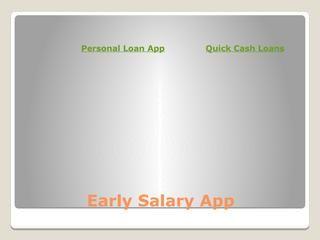 Instant Personal Loan App: Meet your financial exigencies