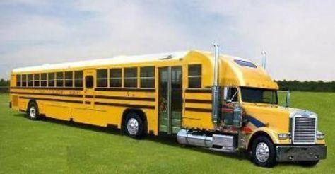 Top 10 Crazy And Unusual Yellow School Buses School Bus School