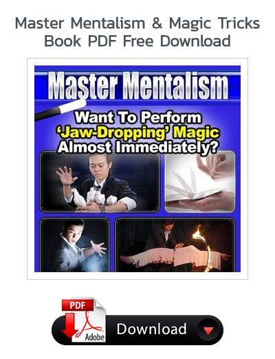 Master Mentalism Magic Tricks Book Pdf Free Download Magic Tricks Book Magic Tricks Revealed Magic Tricks