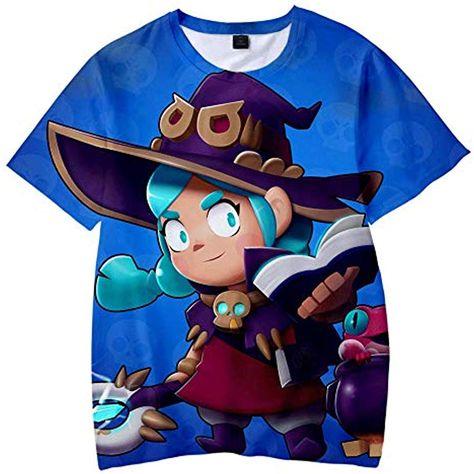 Camiseta Verano En Ni/ñOs Impresi/óN 3D Patr/óN De Juego Manga Corta Casual
