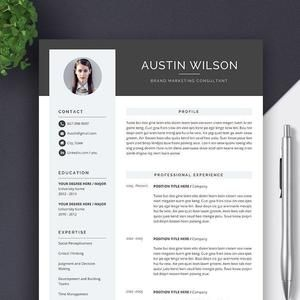 Best Selling Cv Template Resume Template For Ms Word Professional Cv Template Design Editable Resume Format Instant Download Cv Template Project Manager Resume Resume Template