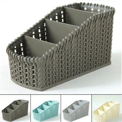 Advertisement 4 Grid Storage Basket Box Bin Container Organizer Clothes Laundry Applied Decorative Storage Plastic Box Storage Storage Baskets