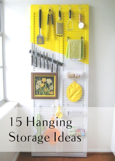15 Hanging Storage Ideas