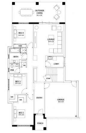 Double Story House Plans Upside Down House Designs Reverse Living House Plans Seabreeze Mojo Architectural Floor Plans House Plans Double Storey House
