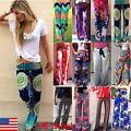 Plus Size Womens Harem Pants Wide Leg Palazzo Hippie Yoga Sports Long Trousers