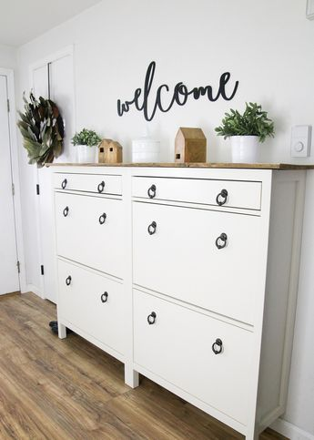 Create Extra Storage In The Entryway Shoe Storage Furniture