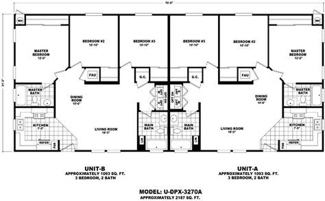 Duplex Mobile Home Floor Plans Home Manufactured Modular Homes Durango Homes Duplex Floor Plans Manufactured Homes Floor Plans Mobile Home Floor Plans