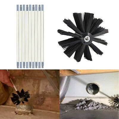Sponsored Link Dryer Duct Cleaning Kit Clear Clean Flexible Cleaner Remover Vent Brush Tool Hot Dryer Duct Cleaning Dryer Duct Duct Cleaning