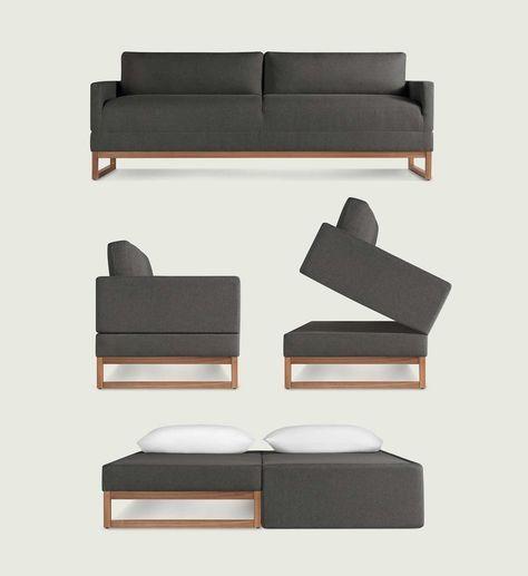 Diplomat 80 Sleeper Sofa With Images Modern Sleeper Sofa