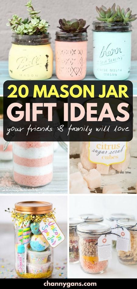 20 Mason Jar Gift Ideas Your Friends Family Will Love Mason Jar Christmas Gifts Mason Jar Gifts Diy Jar Gifts
