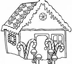 Image Result For Gingerbread House Clipart Black And White House Colouring Pages Snowman Coloring Pages Coloring Pages