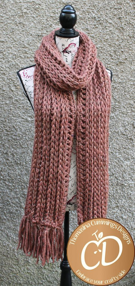5fa94bc4eec List of Pinterest chuky yarn scarf pattern projects images   chuky ...