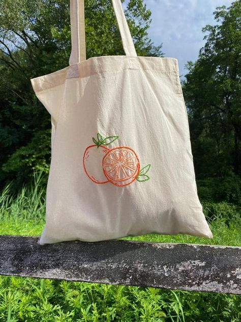 Printed Tote Bags, Cotton Tote Bags, Canvas Tote Bags, Hand Embroidery Art, Diy Tote Bag, Reusable Grocery Bags, Embroidered Bag, Market Bag, Purses And Bags
