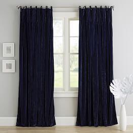 Shimmer Velvet Blackout Drape Curtains Cool Curtains Blackout