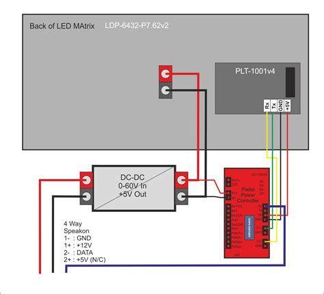 8×8 led matrix circuit diagram fresh led matrix wiring l-shaped matrix diagram matrix wiring diagram #7