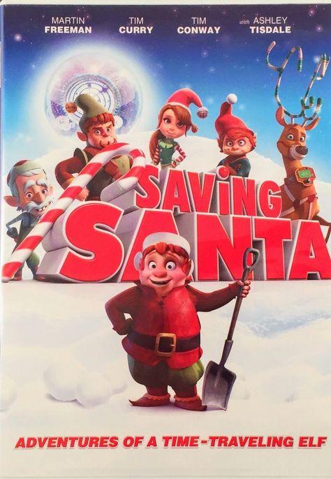Saving Santa (DVD, 2014)Adventures of a Time Traveling Elf | eBay