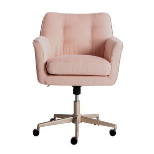 Office Chairs Joss Main With Images Home Office Chairs Office Chair Design Pink Desk Chair