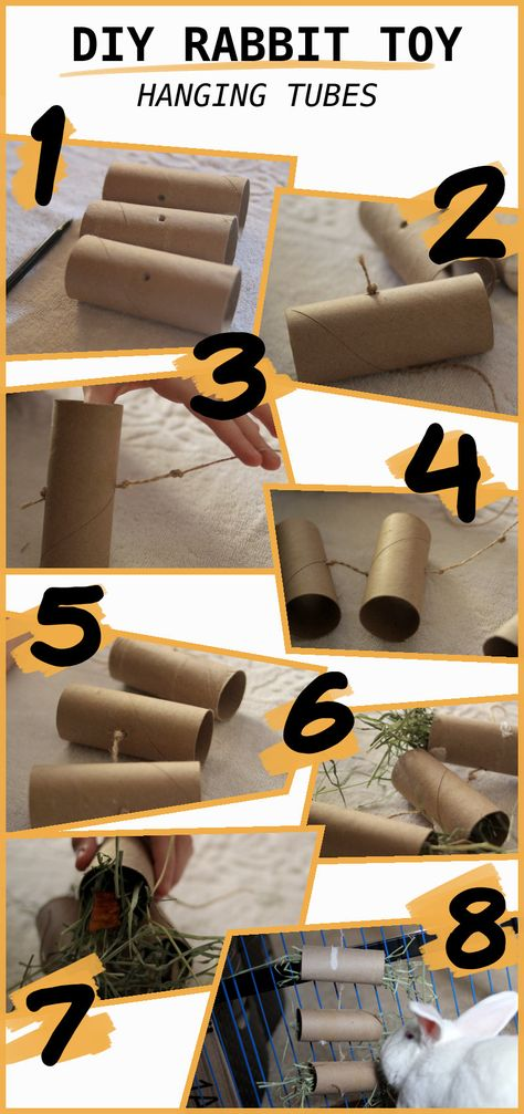 5 Diy Easy Rabbit Chew Toys To Make A Step By Step Guide In 2020 Diy Bunny Toys Bunny Rabbit Toy Homemade Rabbit Toys