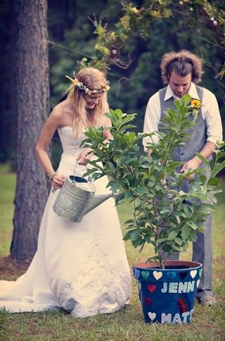 Diy Bohemian Rainbow Wedding Jenn Matt Hochzeit Ablauf