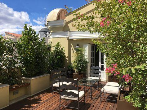 Fortuny Patios Terraces La Rosa Maura Garden Art And