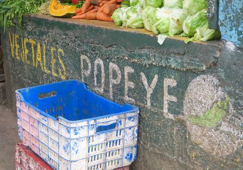 I was definitely amused this vegetable stand in the city of Santa Barbara de Samana was named after Popeye. I don't remember seeing any spinach any where though! #prettysocial #naturallyDR #goDomRep #travelnoire
