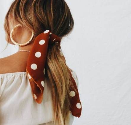 How to wear a bandana with a ponytail hair ideas 57 new ideas