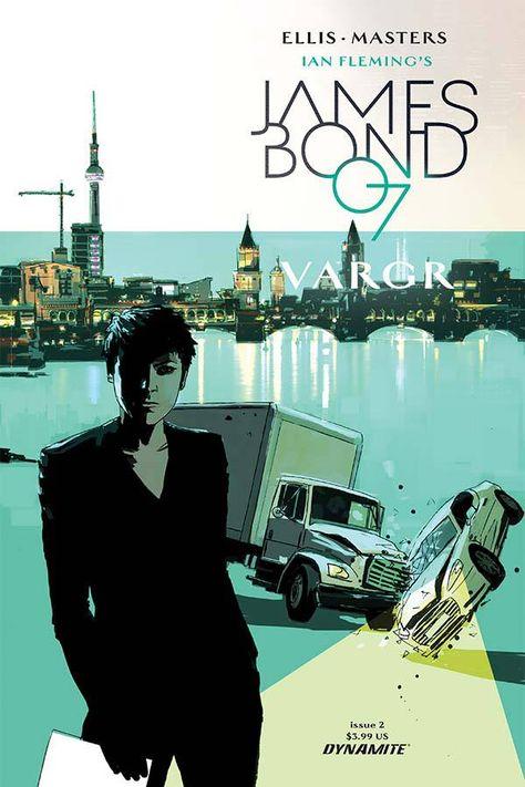 James Bond 007 Vargr #2.
