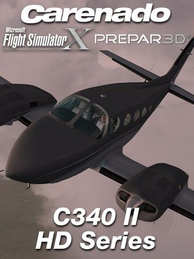 CARENADO : C340 II HD Series Features: HD quality textures (2048 x