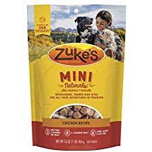 Zuke S Natural Training Dog Treats Mini Naturals Recipe Made In