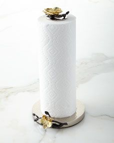 Michael Aram Gold Orchid Paper Towel Holder Paper Towel Holder Towel Holder Gold Orchid