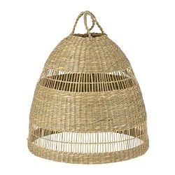 TORARED Pendant lamp shade, seagrass, Height: 13 Diameter