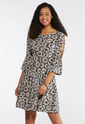 Cato Fashions Embellished Animal Print Dress Catofashions Animal Print Dresses Short Summer Dresses Cheap Cocktail Dresses