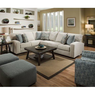 Palmetto Simmons Upholstery Sectional in 2019 | Melissas ...
