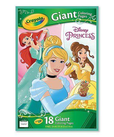 Love This Disney Princess Giant Coloring Pages On Zulily Zulilyfinds Tarjetas Disney Regalos De Cumpleanos Para Ninos Accesorios De Escuela
