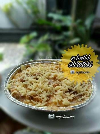 Resep Schotel Shirataki Keto Oleh Angelina Resep Makanan Resep Masakan Keto