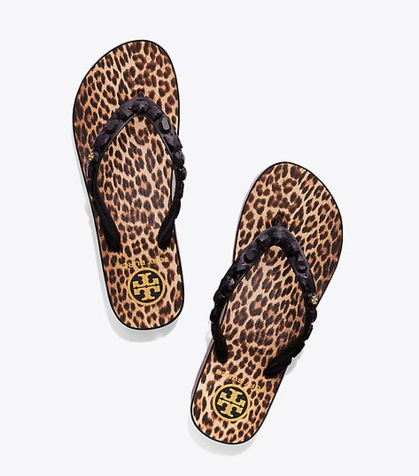b0442f5e35687 Visit Tory Burch to shop for Jeweled Wedge Flip-flop and more Womens View  All. Find designer shoes