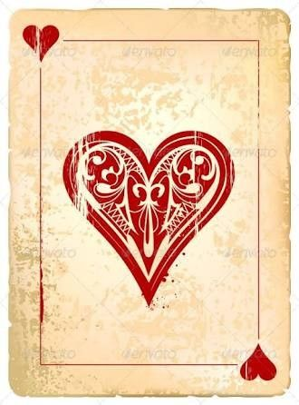 Pin By Frau Mendes On Tattoo Hearts Playing Cards Playing Cards Art Card Art