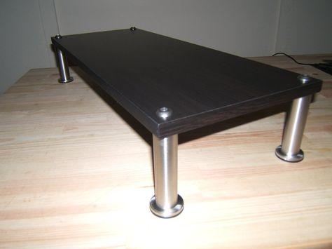IKEA Hackers: A better computer desk shelf | Ikea Hacks & other Good Ideas  | Pinterest | Desk shelves, Ikea hackers and Desks