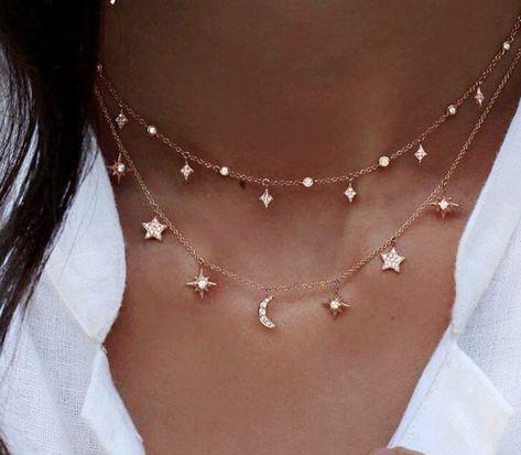 Starry Night Necklace - Fierce Vixen - Boho Jewelry - Boho