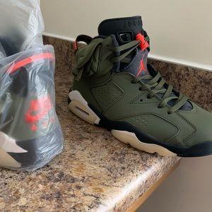 Air Jordan Travis Scott 6 #shoes #fashion #accessories #clothing #sneakers