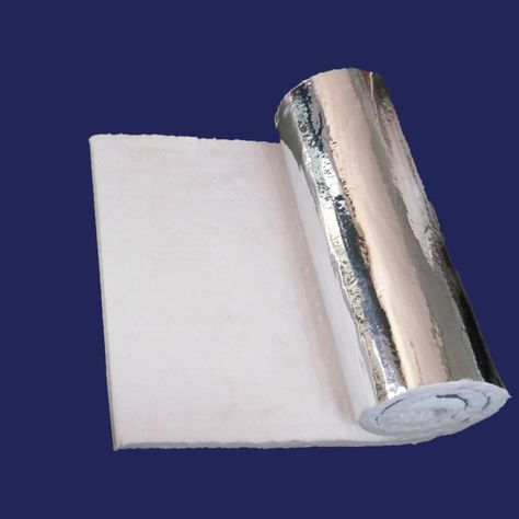 1 Aluminium Foil Faced Ceramic Fiber Blanket Insulation 6 2300f 24 X 6 You Can Find More Details By With Images Ceramic Fiber Blanket Ceramic Fiber Blanket Insulation