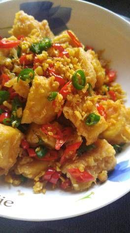 Resep Tahu Cabe Garam Oleh Yenlie Wang Resep Resep Tahu Resep Masakan Ide Makanan